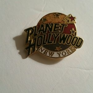 Planet Hollywood New York Pin New